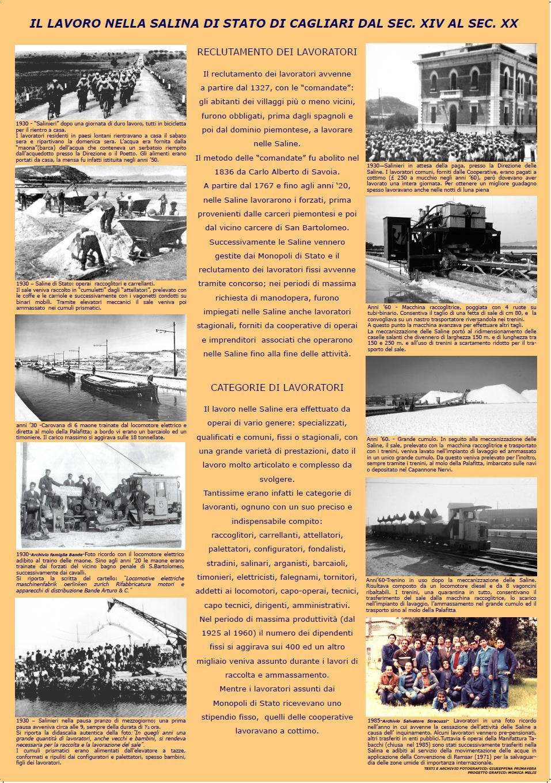 Poster Il lavoro nella Salina di Stato di Cagliari