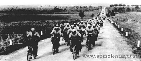 Salinieri in bicicletta